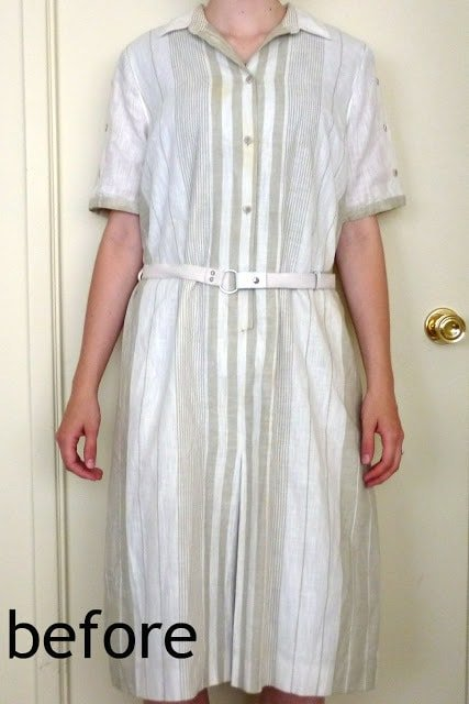 How-to Fit an Ill-Fitting Dress Tutorial