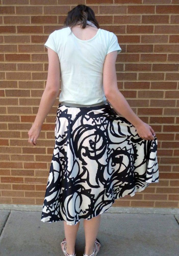 Me Made: Aztec Print Circle Skirt