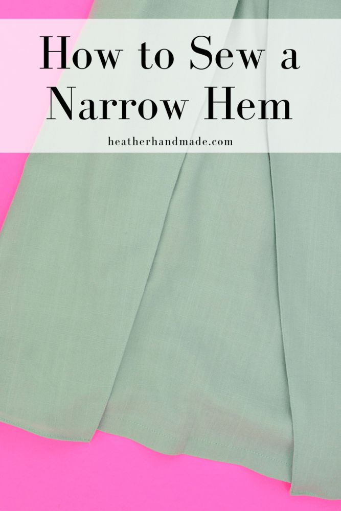 How To Sew Rolled Hem Without a Rolled Hem Foot