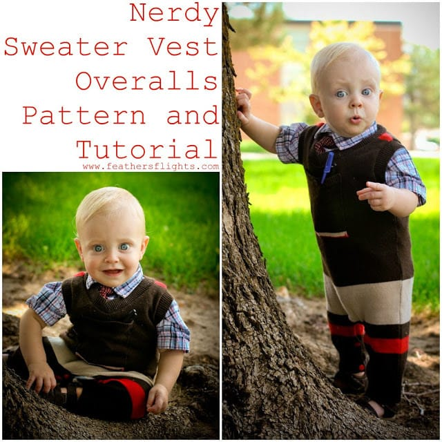 FREE PATTERN: Sweater Vest Overalls