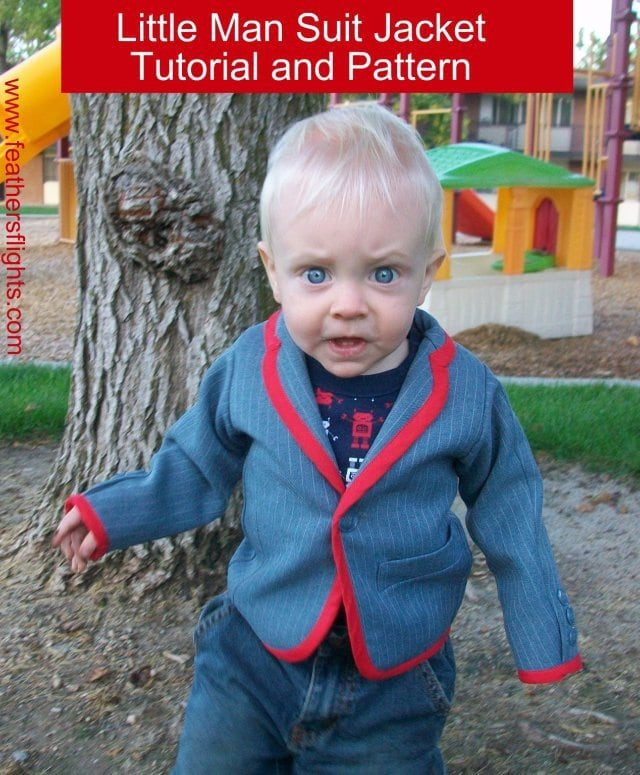 free baby suit jacket pattern