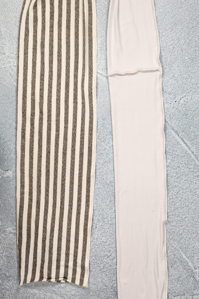 sew long edge rectangle right sides together