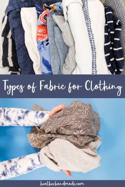 types of fabric for clothing