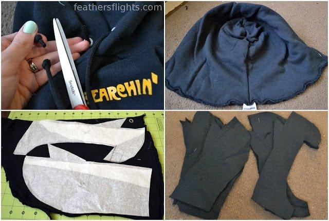 Batman Hood Pattern and Tutorial