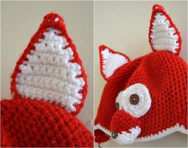 FREE PATTERN: The Perfect Crocheted Fox Ears
