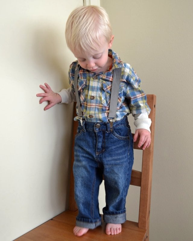 Little Boy Suspenders
