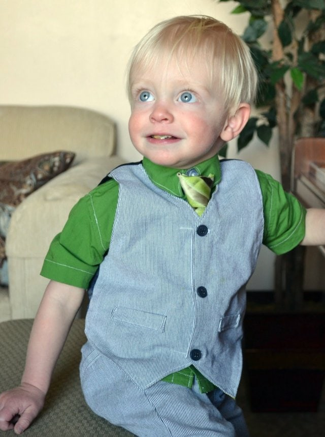Little Boy Easter Outfit