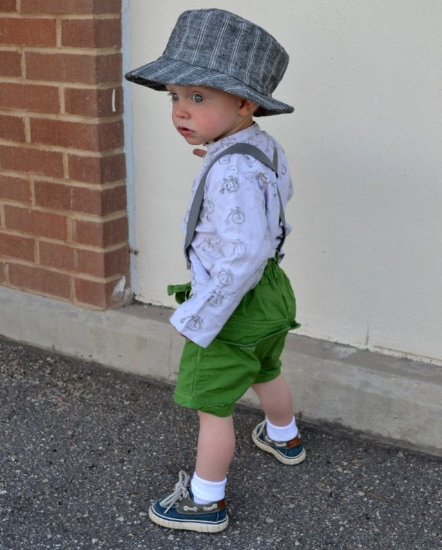 Bicycle Shirt, Green Shorts, and a Fedora: Boys 2013 Spring/Summer Line