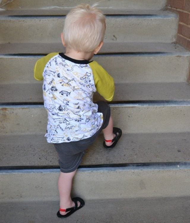 Scribbles Shirt, Walrus Shorts, and Sandals: Boys 2013 Spring/Summer Line