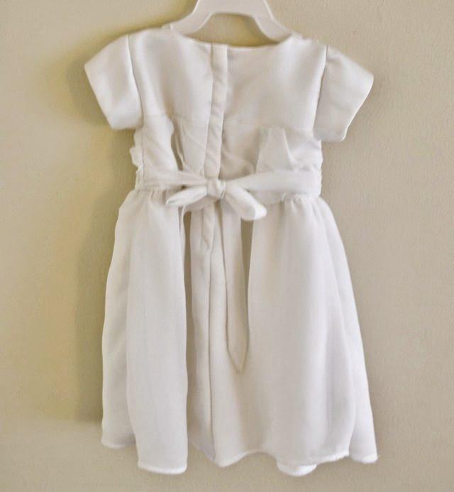 Wedding Dress to Blessing Dress