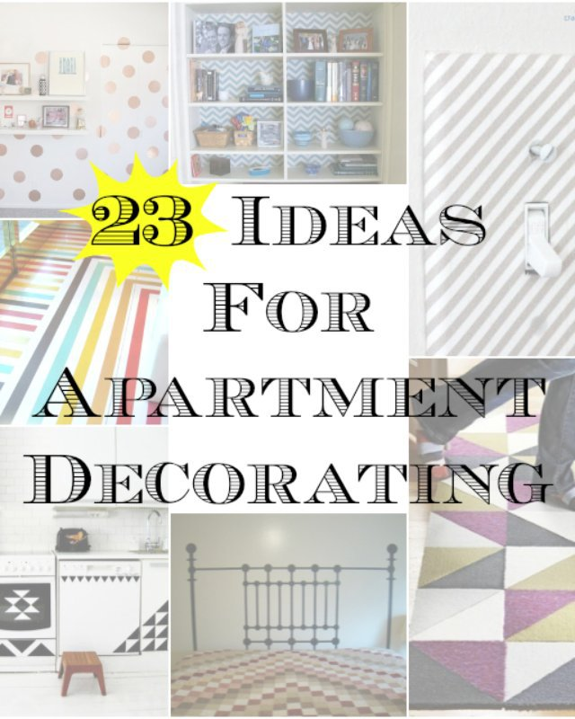 23 Ideas For Apartment Decorating Heather Handmade