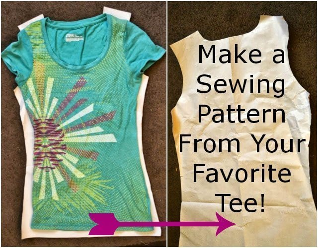 Perfect Summer Tee Week: How to Make a Pattern From Your Favorite Tee