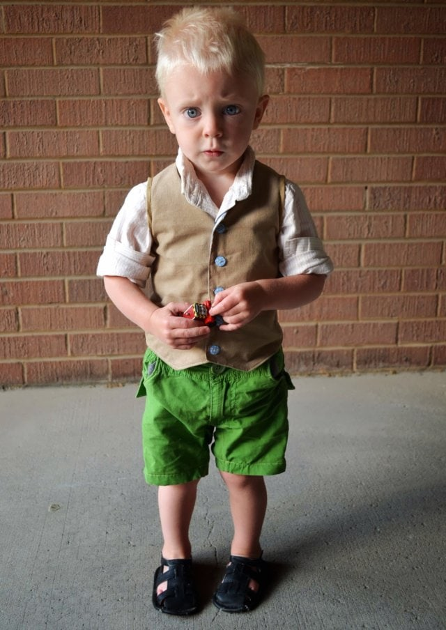 Corduroy Waistcoat and Little Dress Kits Giveaway: CLOSED