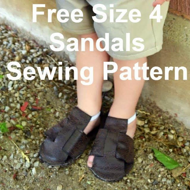 Free Baby Sandals Pattern