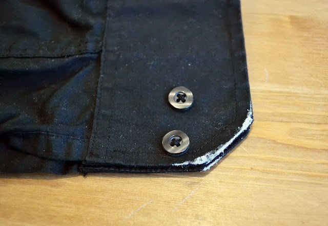Contrast Bound Shirt: A Simple Button Up Shirt Refashion