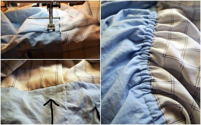 Men's Shirt Dress Refashion Tutorial