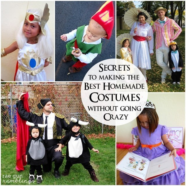 Secrets to Making the Best Homemade Costumes with Raegun Ramblings