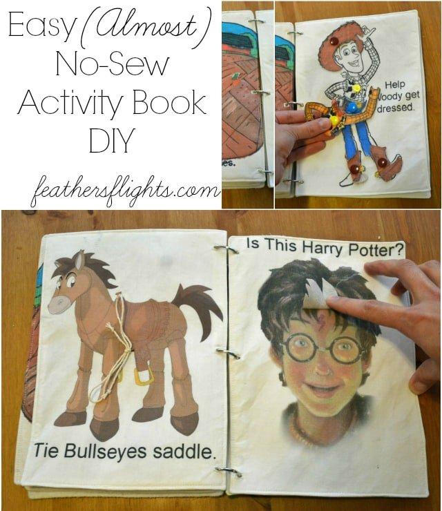 Easy DIY Quiet Book