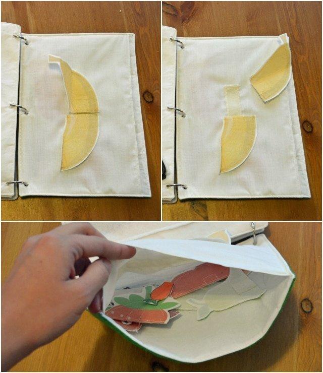 Easy (Almost) No-Sew Activity Book DIY