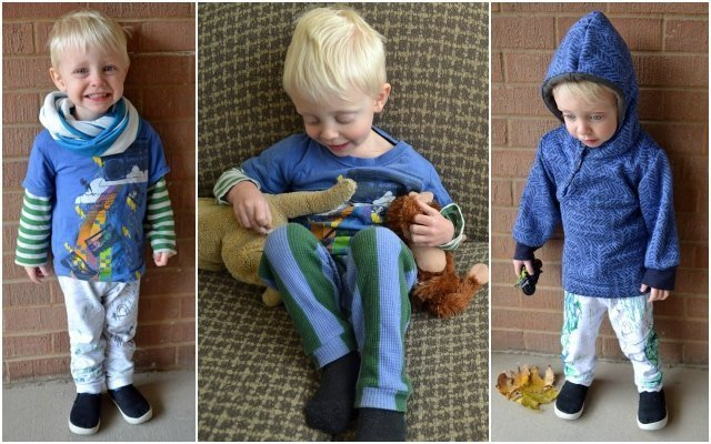 Boys Fall/Winter Collection: Leggings, Long Sleeve Tees and the Hoodie