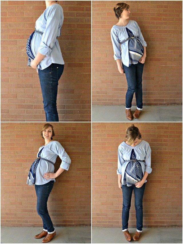 DIY Maternity Shirts