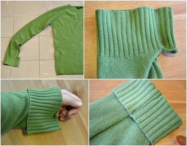 Maternity Sweater Refashion