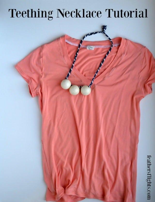 8 DIY Baby-Friendly Necklace Ideas