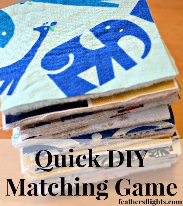 Quick DIY Matching Game