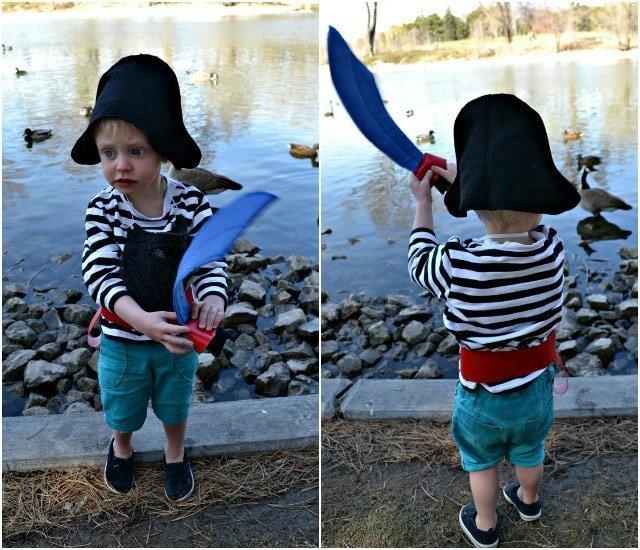 DIY Pirate Dressup Tutorial
