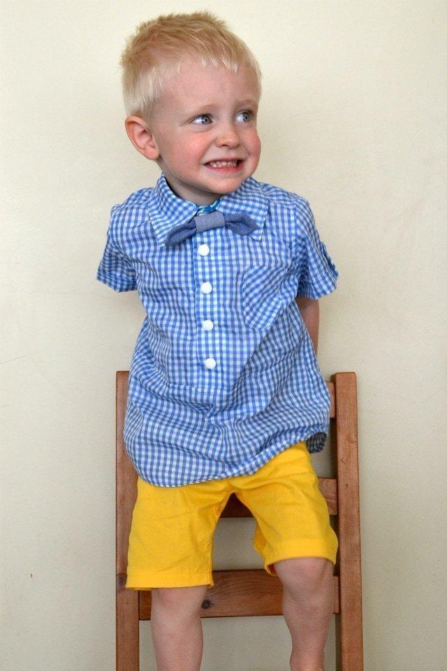 Handmade Boy's Collared Shirts