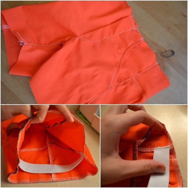 How To Install Elastic In Flat Front Pants