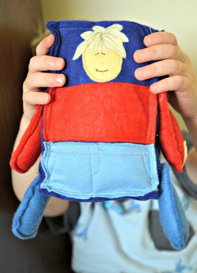 DIY Felt Stuffie Handmade Gift