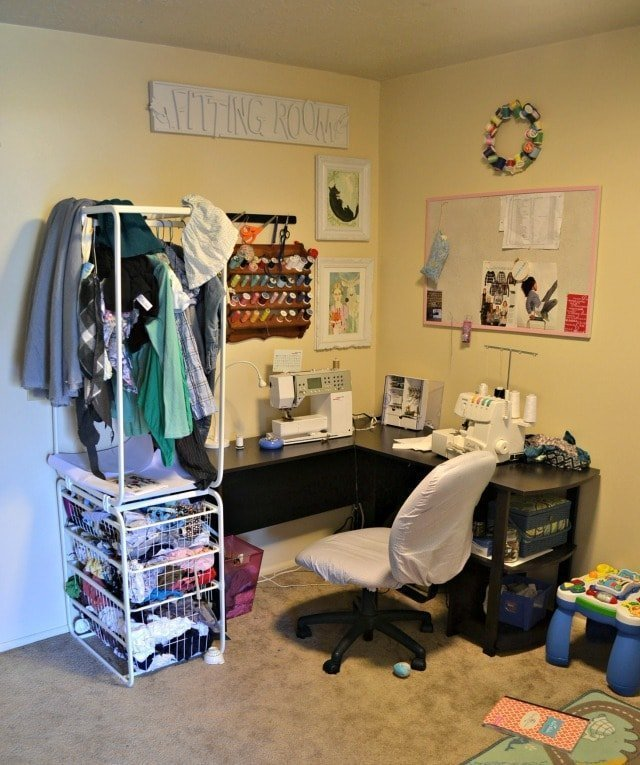 Sewing Area and Playroom