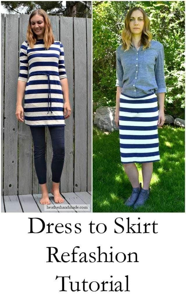 16 Dress Refashion Tutorials // heatherhandmade.com