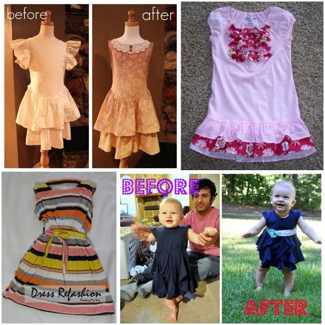 9 Dress Refashion Tutorials