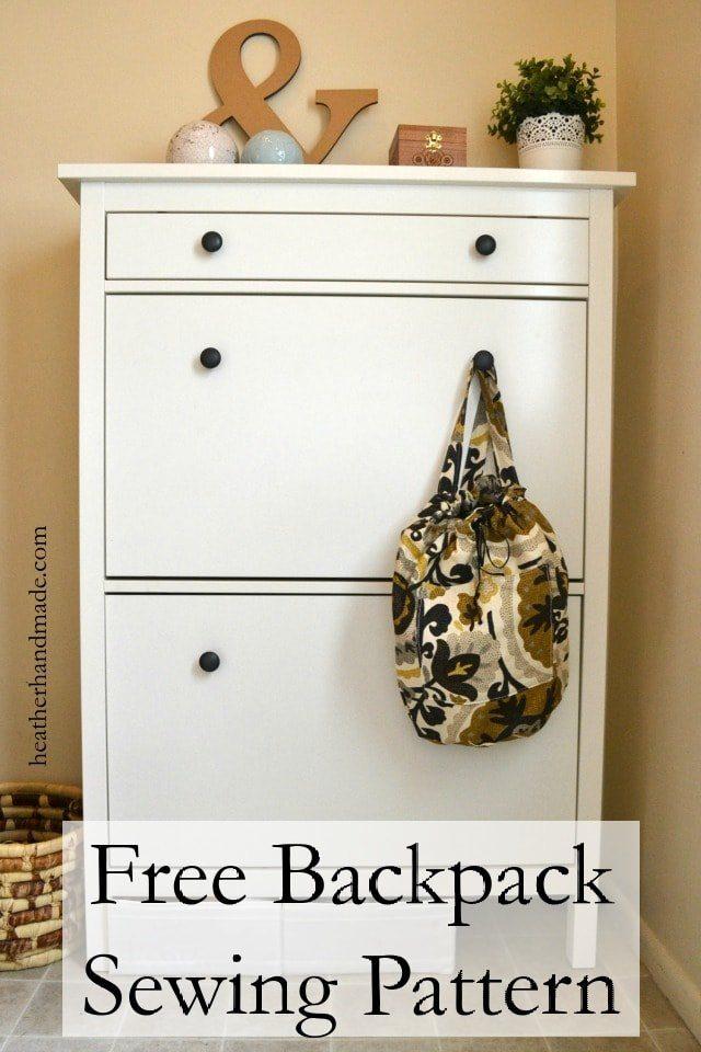 Free Backpack Pattern Heather Handmade