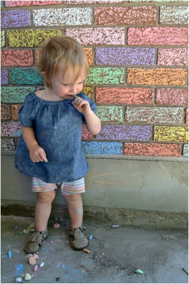 Sewing for Baby: DIY Leather Fringe Baby Sandals