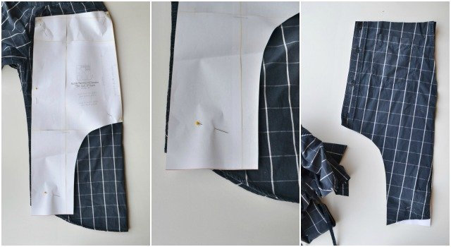 How to Upcycle: Two Kid Pants From One Shirt // DIY Sew