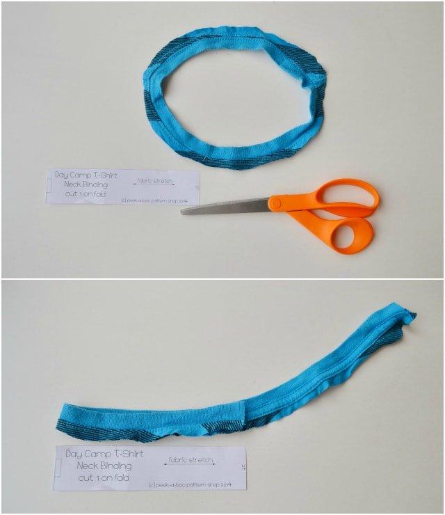 How to Upcycle: Kid Basic Tee Hems // DIY Sew