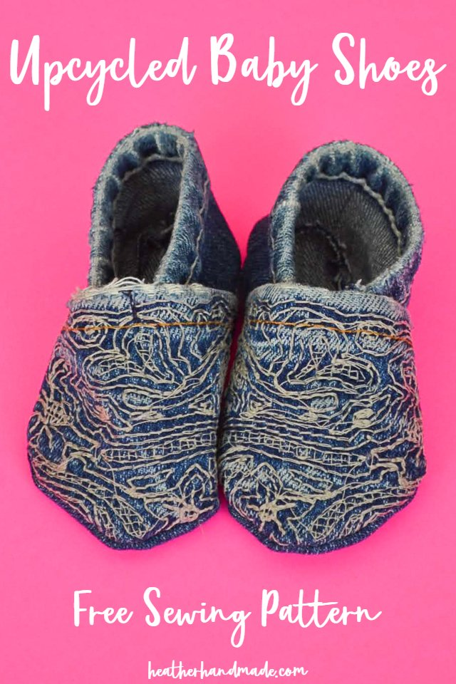 Upcycled Baby Shoes: FREE Pattern!