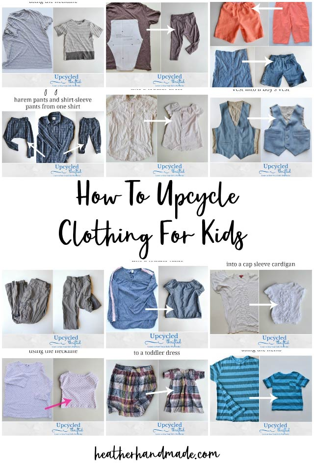 How To Upcycle Clothing For Kids