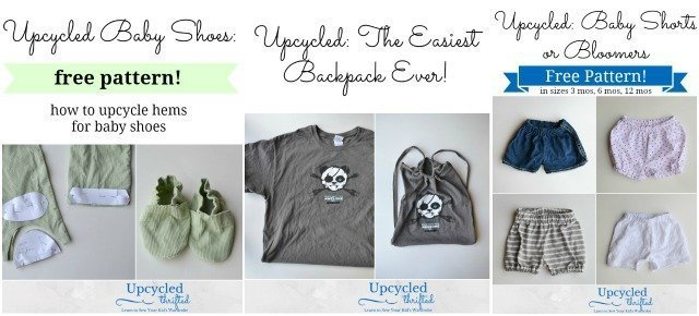 How To Upcycle: Sewing Tutorials
