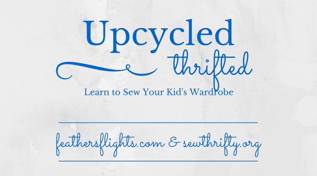 How to Upcycle: Kid Basic Tee Neckline // DIY Sew