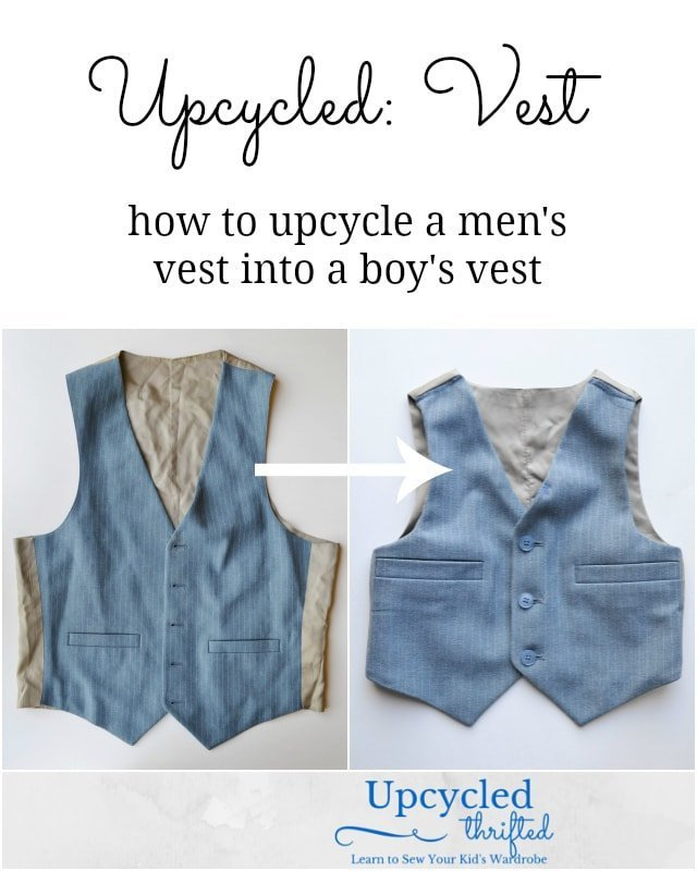 How to Upcycle a Vest