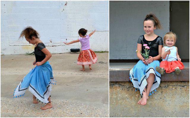Quick Scarf Skirt Tutorial: Three Ways!