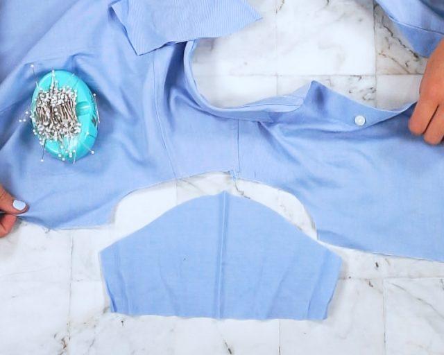 sew sleeves into armscye