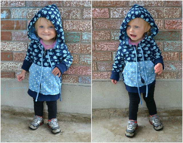 Sewing for Kids: Upcycled Zip-Up Hoodies