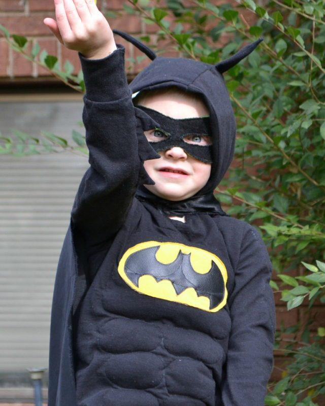 diy boy batman costume