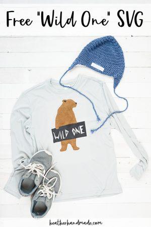 free wild one svg