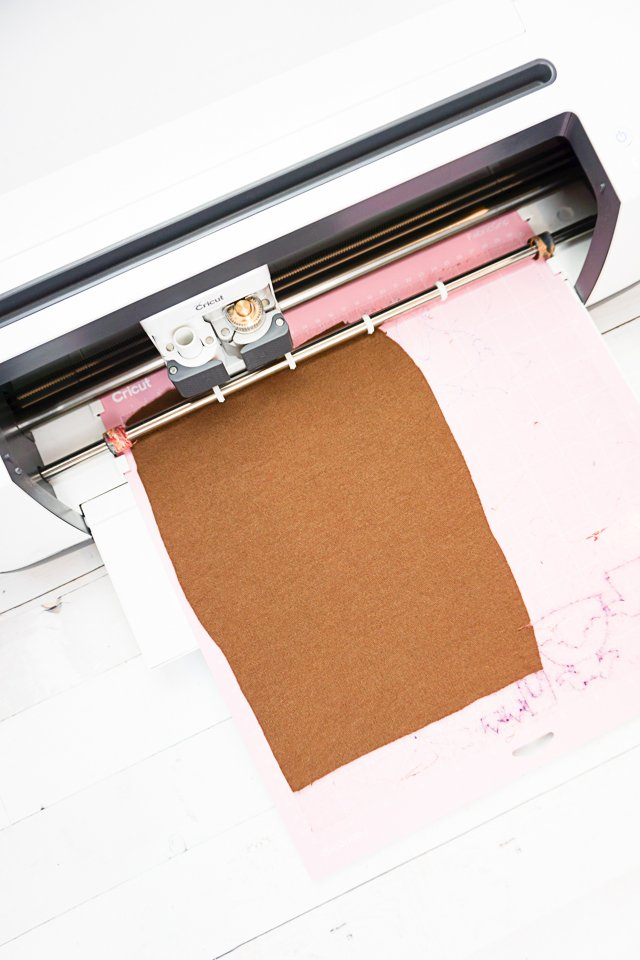 cricut maker cut fabric